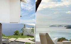 outdoor villa de luxe vacances vue mer océan