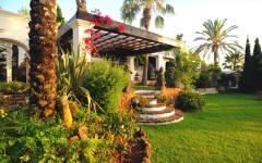 parc privé propriété de luxe ibiza