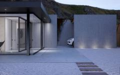 villa minimaliste architecture industrielle luxe