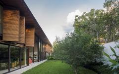 volets en bois maison moderne de luxe