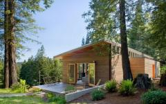 vue extérieure de la demeure en bois