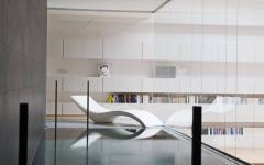 piscine intérieure maison citadine luxe