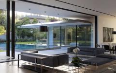 maison contemporaine flottante