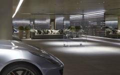 parking garage souterrain maison de luxe