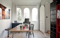 bureau chic élégant maison rénovée