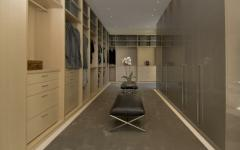 dressing de résidence luxe montecito