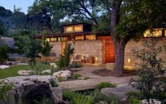 maison en bois rustique de luxe
