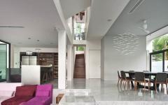 séjour rénové maison de luxe familiale