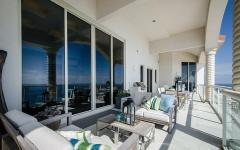 terrasse appartement de luxe exotique