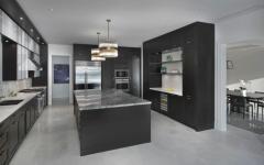 grande cuisine bois et marbre