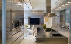 cuisine spacieuse maison d'architecte
