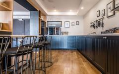 grande et claire cuisine ouverte
