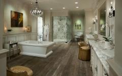 spacieuse design luxueux salle de bains