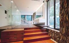 design minimaliste salle de bain luxe