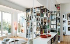 Séjour contemporaine maison citadine contemporaine