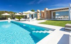 ibiza vacances location de luxe piscine villa