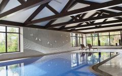 piscine d'intérieur luxe résidence prestige