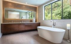 salle de bain attenante privative spacieuse claire