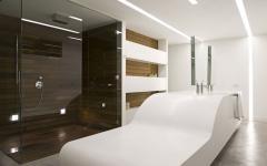 concept original salle de bains minimaliste luxe design