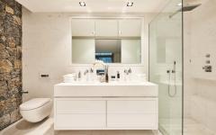 salle de douche design minimaliste luxe