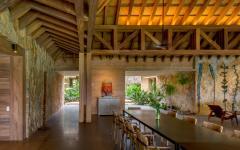 salle à manger espace séjour résidence de luxe