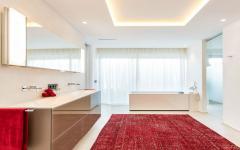 spacieuse salle de bain villa à louer vacances de luxe baléares