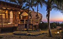 retraite insolite hébergement atypique villa en bois éco