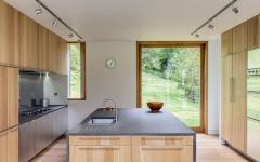 cuisine contemporaine belle maison neuve campagne