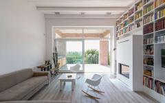 séjour maison design tout en longueur