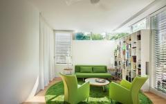 assises couleurs prononcées maison verte