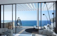 appartement de luxe sur la côte