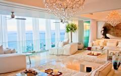 intérieur appartement vue mer