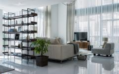 séjour au design luxueux appartement en duplex