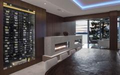 salle à manger intérieure maison moderne architecture