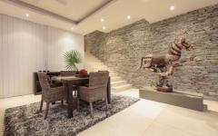 intérieur de style chic villa de vacances luxe