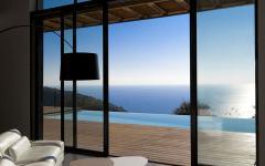 séjour donnant piscine villa de rêve monaco