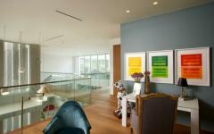 intérieur éclectique artistique résidence principale