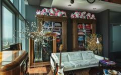 intérieur appartement citadin design créatif