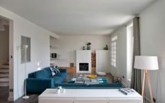 mobilier design chic maison rénovée paris