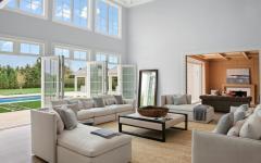 living room de luxe résidence secondaire