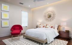 Chambre d'amis design simple minimaliste