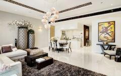 appartement orientale Dubaï intérieur design