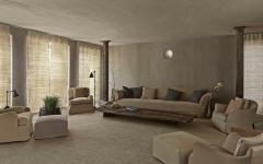 séjour design industriel rustre appartement de ville
