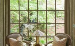 verrière et intérieur en bois maison de charme rustique