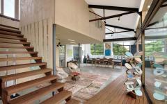 design intérieur rénovation entrepôt vieux maison loft