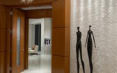 entrée appartement design déco luxe