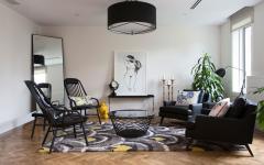 salon invités maison d'architecte moderne
