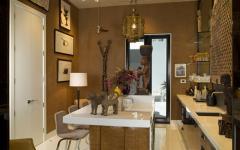 intérieur éclectique maison de luxe