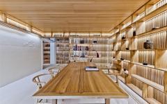 bureau maison ambiance minimaliste