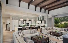 grande pièce de vie principale salon séjour luxe